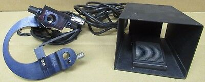 Laser Aperture Model BMBQ Slit Lamp Laser Head In Carry Box With Foot Pedal