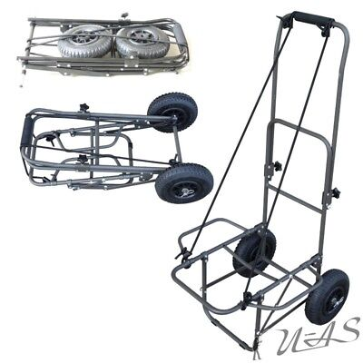 Delta Fishing Trolley Luftbereifung Carp Barrow Xl Angelkarre Transportwagen Sha