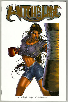 Michael Tunrer Cover Art Witchblade Gallery 10th Anniversary LE 500 Made COA