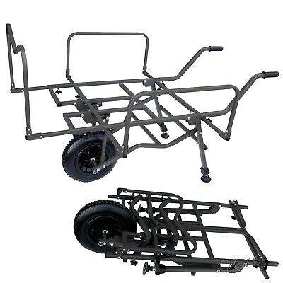 Delta Fishing Trolley Big Wheel Xxl Carp Barrow Schnellklapp Angelkarre Sha