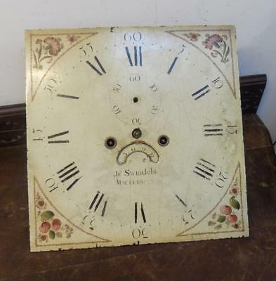 13 inch square dial 8 day longcase movement