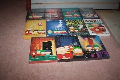 South Park - Complete Seasons 1-11 DVD Sets *Brand New Sealed*