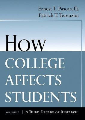 How College Affects Students, Pascarella, ErnestT