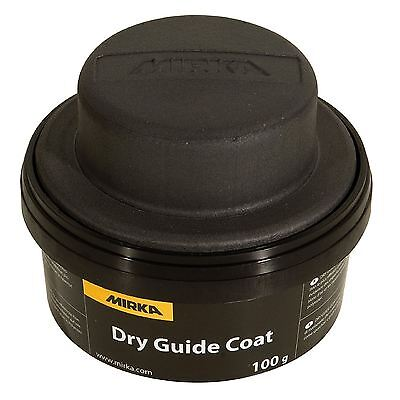 Mirka 100g Black Dry Guide Coat Powder Shows Imperfections & Scratches on Paint