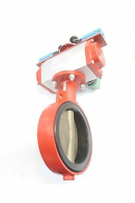 New Bray Series 30 Pneumatic Wafer 150 8In Butterfly Valve D586946