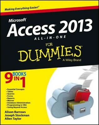 Access 2013 All-In-One for Dummies, Barrows, Alison