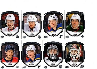 2015-16 Upper Deck UD PORTRAITS Lot - You Pick To Complete Your Set