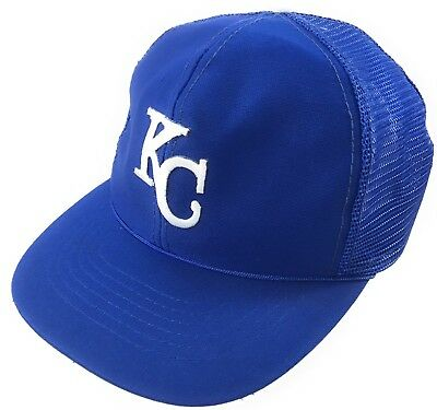 faf7a235ec2 ... discount code for vintage 1985 kansas city royals snapback mesh trucker hat  kc baseball cap mlb