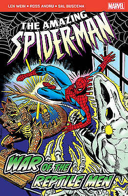 The Amazing Spider-Man: War of the Reptile Men, Conway, Gerry