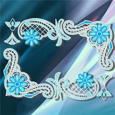 LACE RUNNERS  number 4  FSL  MACHINE EMBROIDERY DESIGNS CD MIXED SIZES