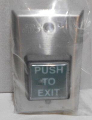 Security Door Controls SDC Push Switch ( Push to Exit )