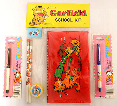 Garfield Pencil Case, New Old Stock from 1978, Plus !