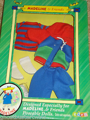 """New Nib Madeline 8"""" Dollhouse Doll House Sweatsuit Park Outfit"""