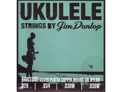 JIM DUNLOP UKULELE BARITONE STRINGS Warm Exceptional Clarity Made In USA