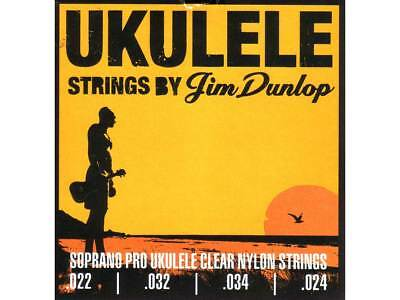 JIM DUNLOP PRO UKULELE SOPRANO STRINGS Warm Exceptional Clarity USA Made