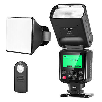 Neewer NW-670 TTL Speedlite Flash Kit for Canon 7D Mark II, 5D Mark II III, IV