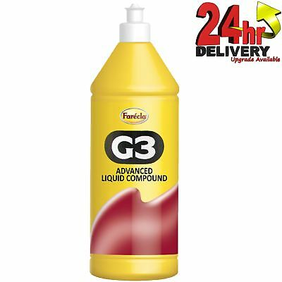 Farecla G3 Advanced Liquid Compound 500ml Bottle Car Polishing