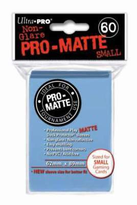 Ultra Pro 60 Deck Hüllen/Sleeves small Light Blue Pro-Matte original verpackt