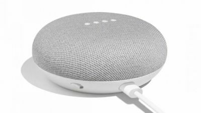 Google Home Mini - Smart Small Speaker - Chalk Grey