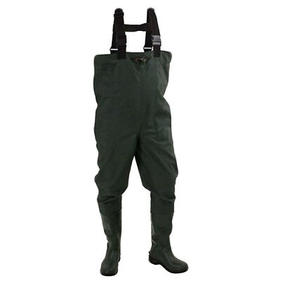 Frogg Toggs 2715243-13 Men's Dark Green Cascades Rubber Boot Wader - Size 13