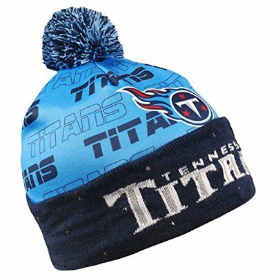 Forever Collectibles NFL Adult's Tennessee Titans Light Up Printed Beanie