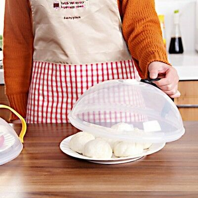 Microwave Plate Cover Lid Dish Food Cover Splatter Guard Steam Vent For Kitchen