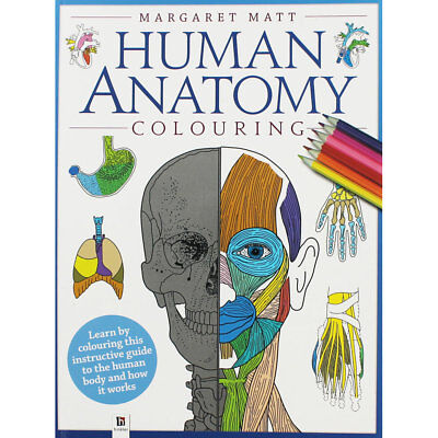 Human Anatomy Colouring Book by Margaret Matt (Paperback), Children's Books, New