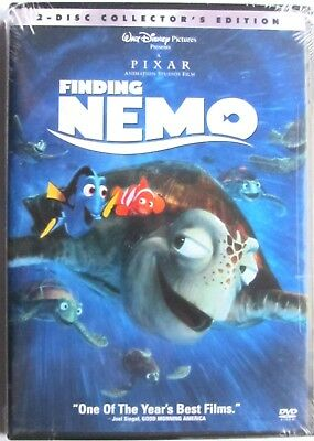 Disney Pixar FINDING NEMO (DVD, 2003, 2-Disc Set) Sealed Collector's Edition NEW