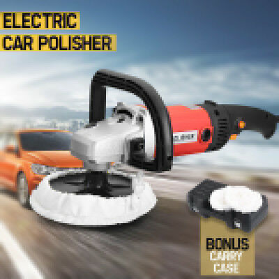 7''Electric 6 Variable Speed Car Polisher Buffer Waxer Sander Detail Boat Copper