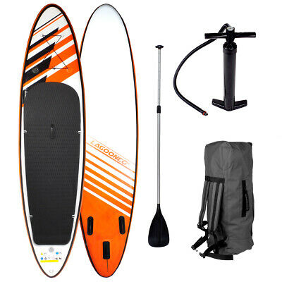SUP Board Stand Up Paddle Surf-Board aufblasbar inkl. Paddel ISUP Paddling 300cm