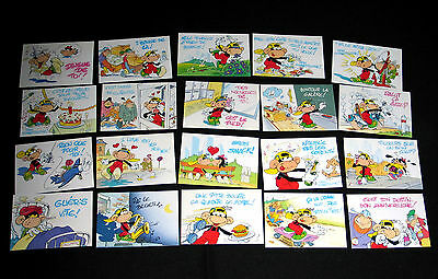 Lot 20 Cp Humour Monkey Tag Mebarki & Rypert Editions Dalix Dessin Singe Clan