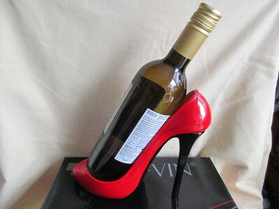 High Heel Shoe Wine Bottle Holder New And Boxed Great Gift Idea