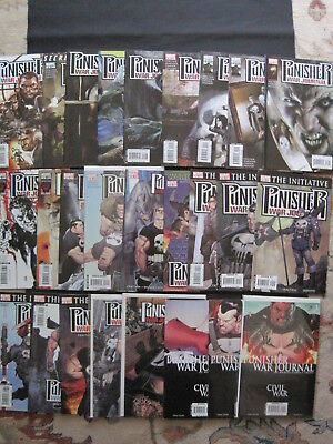 PUNISHER WAR JOURNAL :COMPLETE  26 issue 2007 Marvel SERIES by Matt FRACTION etc