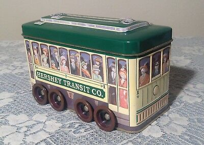 Hershey Canister Vehicle Series Trolley #3 Rolling Wheels
