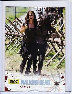 Walking Dead Season 4 Part 2 Parallel Card Selection - Gold & Silver