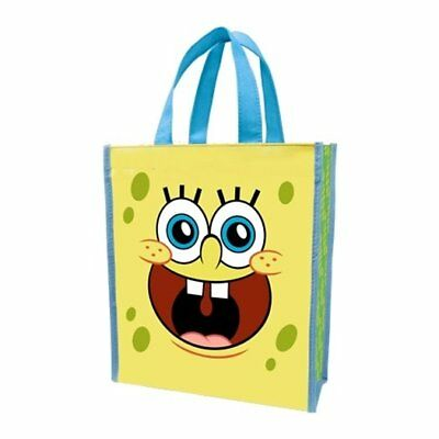 SpongeBob SquarePants Small Two-Sided Recycled Shopper Tote Bag, NEW UNUSED