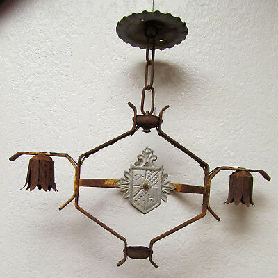 Vintage Nouveau Light Fitting Picclick Uk