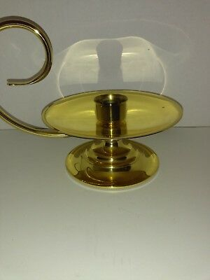 Baldwin Brass Hurrican Candle Holder  8 1/4""