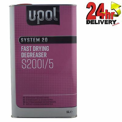 U-Pol System 20 Fast Panel Wipe & Degreaser 5L Panelwipe Upol