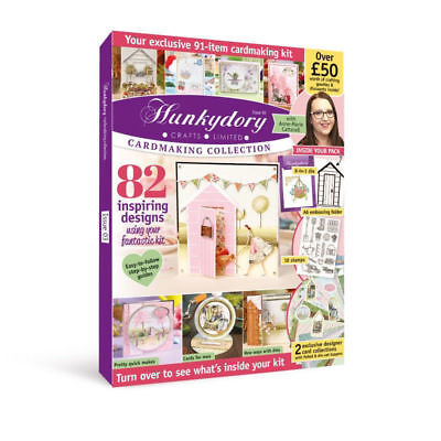 Hunkydory Magazine Issue 3 - 91 Item Cardmaking Kit-£50 Of Crafting Goodies SALE