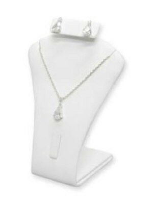 Jewelry Display Fixtures 3 NEW EARRING PENDANT COMBINATION DISPLAYS WHITE