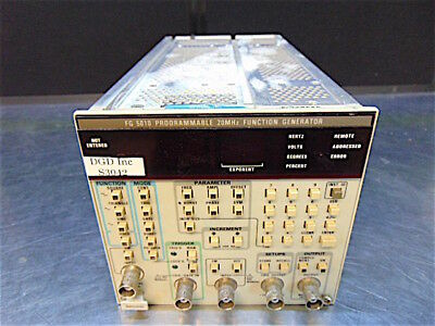 Tektronics FG 5010 Programmable 20MHz Function Generator - Tested - S3042