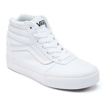 904bb7bf154 MEN S VANS WARD White High Top Athletic Sneakers Skate Casual Shoes ...