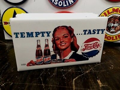 """classic PEPSI COLA /""""always hits the spot/"""" TOP QUALITY MAGNET"""