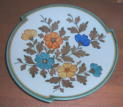 FLORA GOUDA Zeud-Holland Art Pottery Art Deco Deep Dish (1503) signed IRENE
