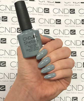 CND Shellac Mystic Slate / Color Coat 7.3ml / Made in USA