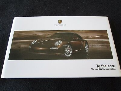 2009 porsche 911 carrera s original factory postcard my2481 cad picclick ca. Black Bedroom Furniture Sets. Home Design Ideas