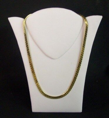 """Jewelry Display Fixtures 3 NEW NECKLACE DISPLAYS WITH EASEL WHITE 8"""""""