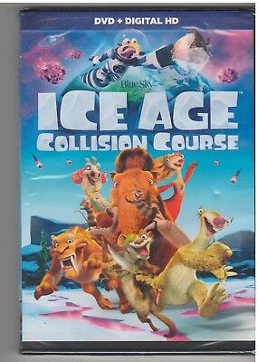 Ice Age Collision Course (Dvd, 2016) New