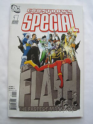 The FLASH 1 : COUNTDOWN SPECIAL : 2007 80 pg ONE - SHOT : CAPTAIN COLD,TRICKSTER